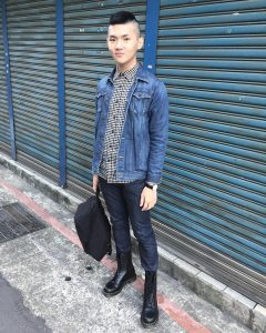 19 With Denim Jacket And Jeans