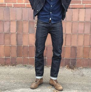 2 Blue Slim-Fit Jeans Pants