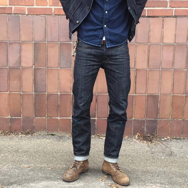 2 Blue Slim-Fit Jeans Pants