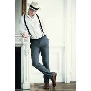 2 Classic Look with Suspenders