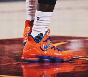 2 Orange Nike Lebron 14
