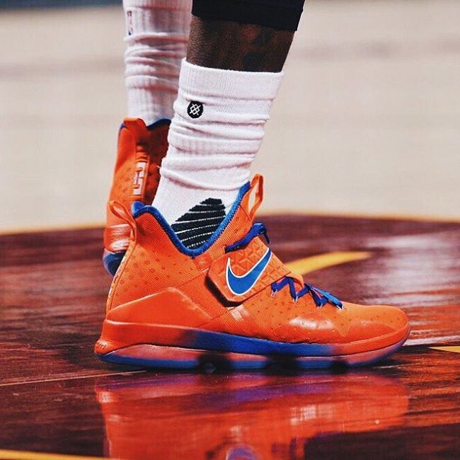 2 Orange Nike Lebron 14