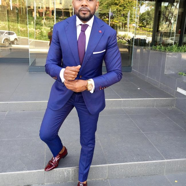 20 Classy Royal Blue Fitted Suit