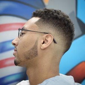 20 Faded Curly Arab Hair