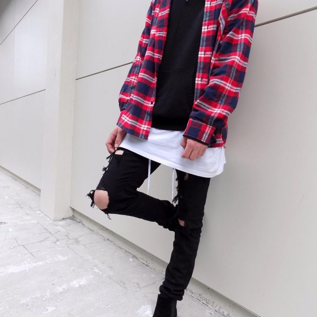 20 Layered casual Outfit