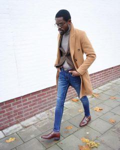 21 Brown Three Button Suit Vest