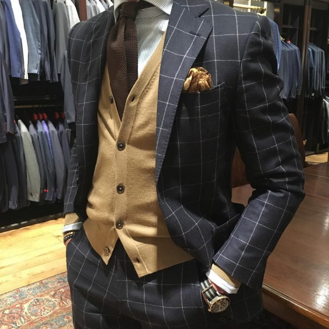 21 Plaid Pinstripe