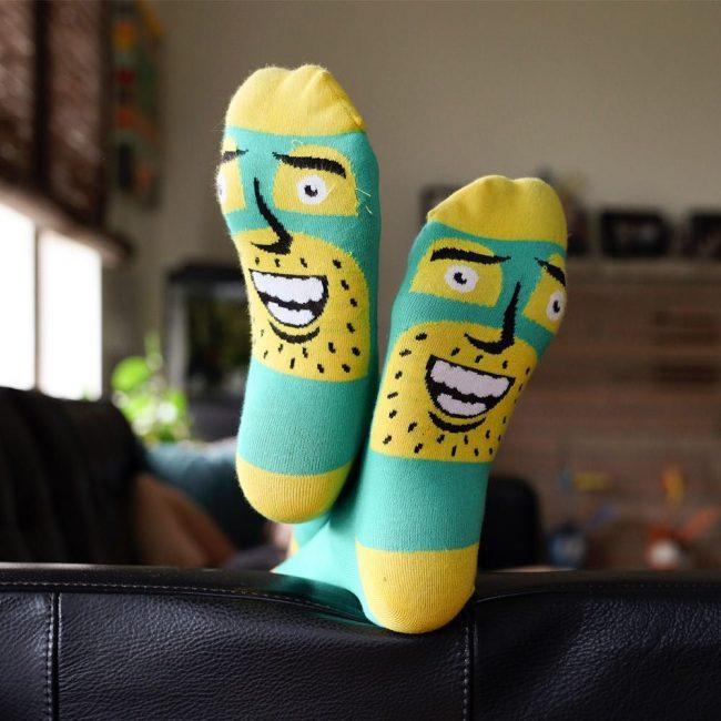 21 Smiling Socks