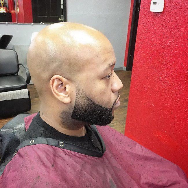 22 Angular Beard with Clean Fade