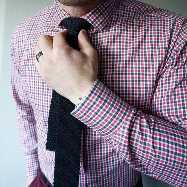 22 Bold Small Check Shirt