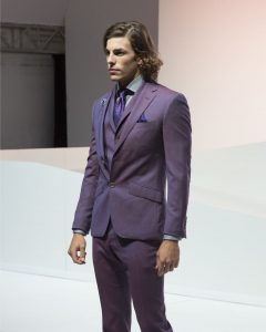 22 Extra-Chic Mauve Suit