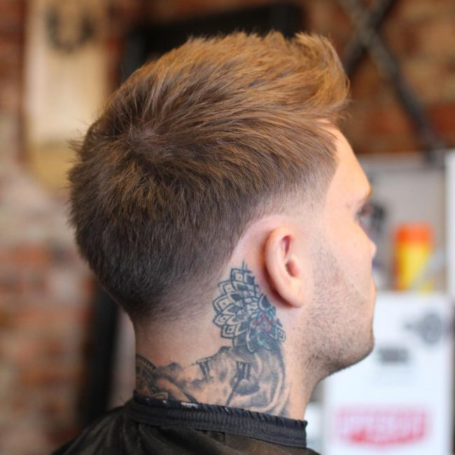 22 Quiff Textured Taper