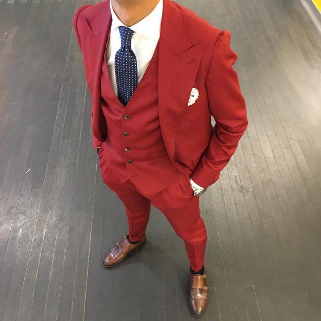 23 A Suit Vest & A Matching Suit