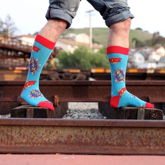23 Bam Pow Men's Crew Socks