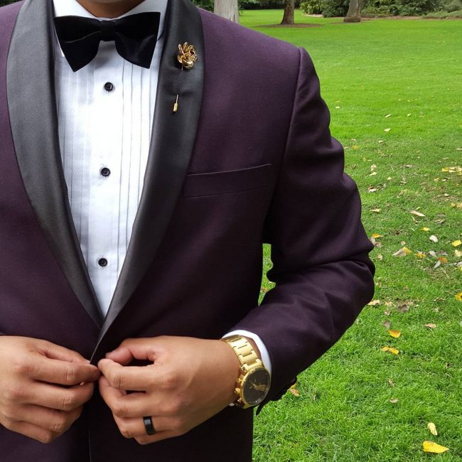 23 Charming Velvet Tuxedo