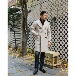 23 Cute Ivory DB Polo Coat