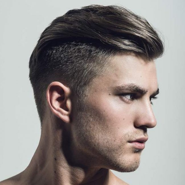 23 Textured Slick Back