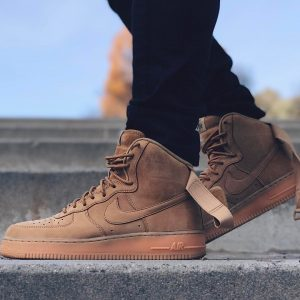 23 The Wheat Shade Kicks with Light Brown Sole