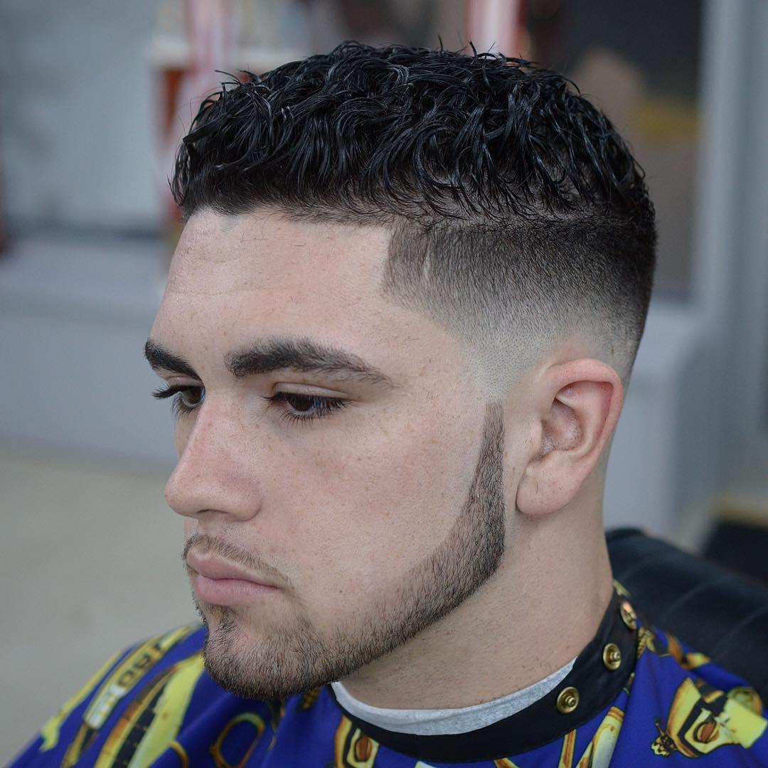Short Curly Hair Mens Cut 40