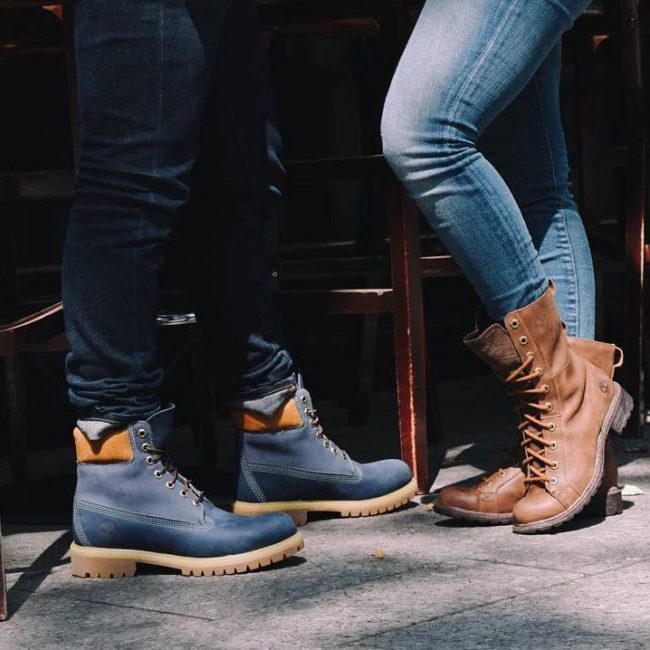 24 Class of Timberland boots