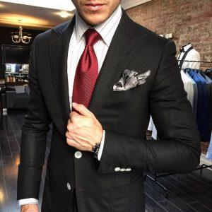 24 White Shirt with Black Stripes