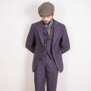 24 Wool Cap and Three-Piece Suit