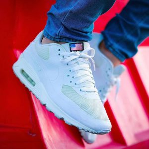 25 All White Independence Day Sneakers and Jeans