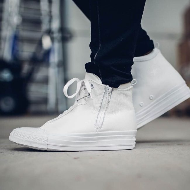 25 Wonderful High Top White Converse Ideas Basic and Simple