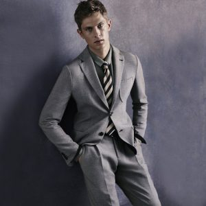 25 Grey Summer Suit Up