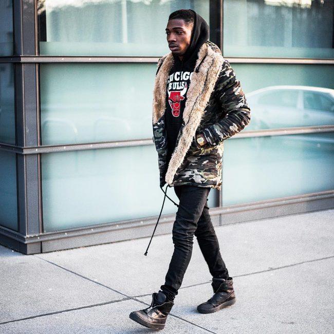 28 Fur Camo Jacket