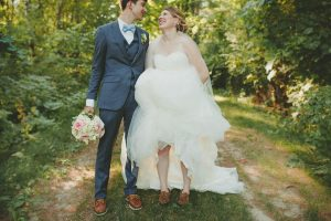 3 Brown Shoes and Tuxedo Wedding Suit