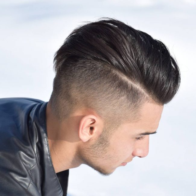 3 Buzzed Blowout Pompadour