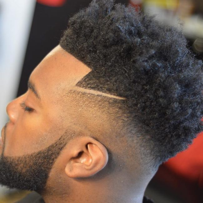 3 Kinky High-Top Fade