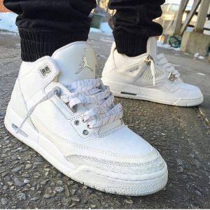 3 Supreme White Kicks