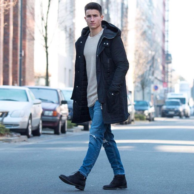 30 Tough Ripped Winter Wear