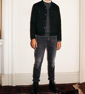 31 Gray Regular Fit Jeans Pants