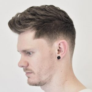 32 Wavy Quiff with Undercut