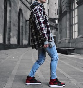 33 Flannel Hoodie Combination