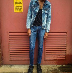 33 Skinny Blue Jeans Suit