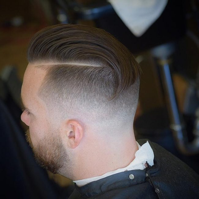 36 Slick Fade Pomp with Back Flop