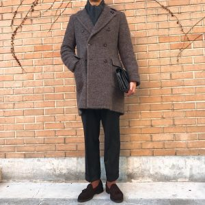 4 Cashmere DB Overcoat