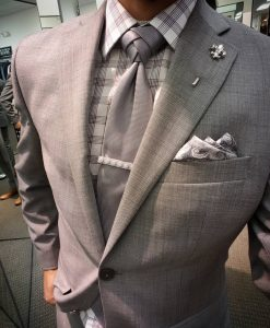 4 Grey Debonair Outfit