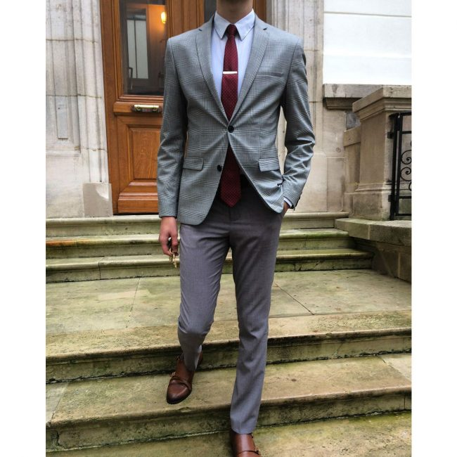 4 Grey Pewter Blazer