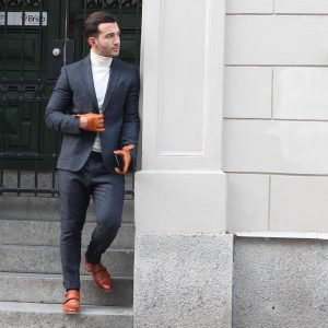 4 Turtleneck T-Shirt and Suit