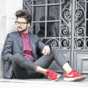 41 Suit With Sneakers