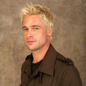 43 Shaggy Blonde Spikes