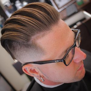 44 Sheared Separated Pompadour