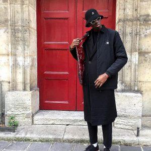 5 Black Kangol Bucket Hat