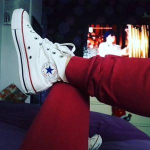 5 Dark Blue All Star Converse