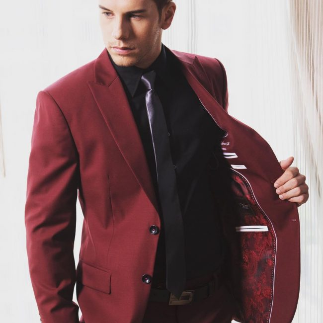 30 impressive burgundy suit ideas cut above the rest
